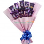 send Cadbury Dairy Milk Chocolate bouquet delivery